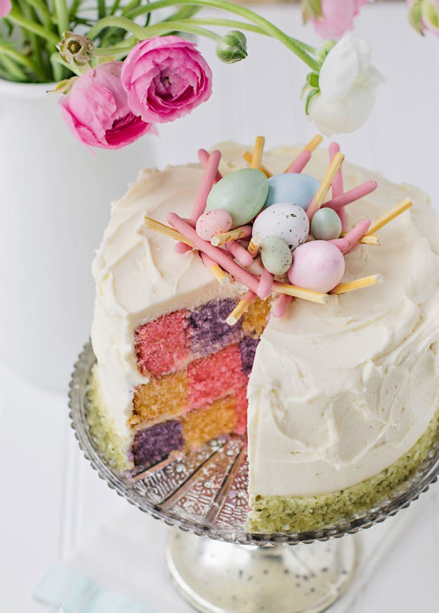 happy-spring-checkerboard-cake-by-bakingdom.jpg
